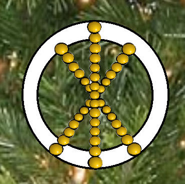 Greek Symbol For Eternal Life Chrismon Pattern...